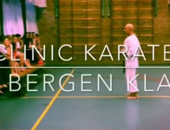 Video: Sensei Johan geeft les op het PCC in Bergen.